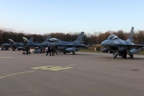 F16's landden op vliegbasis Volkel, meer dan 3000 operaties afgerond tegen IS