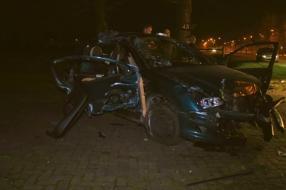 'Ik denk dat de bestuurder engeltjes op schouder had', automobilist veroorzaakt ravage in Odiliapeel