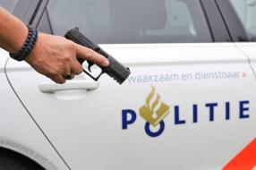 Man met wapen aangehouden in Uden, agenten trekken wapen bij arrestatie