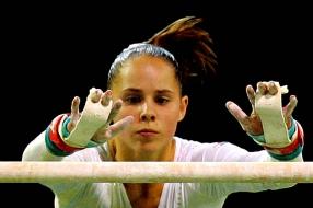 Oud-topturnster Loes Linders wilde niet dat haar dochtertje ging turnen