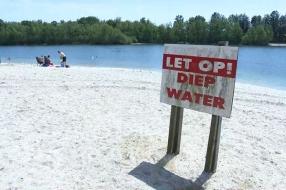 Reddingsbrigade waarschuwt voor temperatuurverschillen in zwemplassen: 'Kan wel 10 graden schelen'