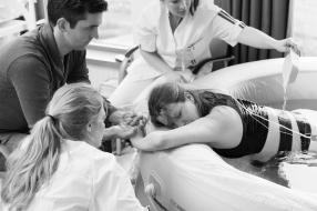 Bevalbaden in Maasziekenhuis om weeën op te vangen