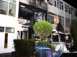 Caravanbrand slaat over, appartement in Uden zwaar beschadigd